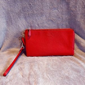 COACH WRISTLET- RED